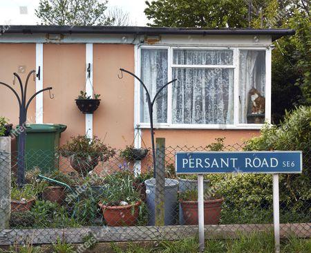 Prefabricated Bungalow At Excalibur Estate Catford London. Excalibur  Estate, Post War Prefabricated Housing U0027 ...
