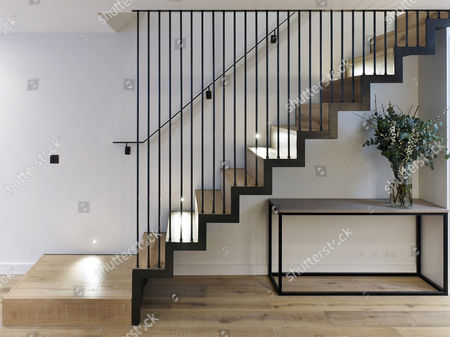 Staircase. North Kensington Home, London, United Kingdom. Architect: Stiff  + Trevillion ...