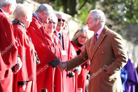 Prince Charles visits Durham