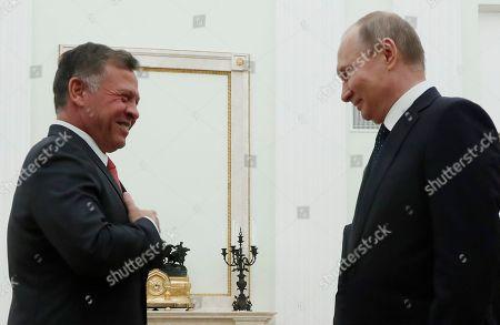 King Abdullah II of Jordan visits Russia