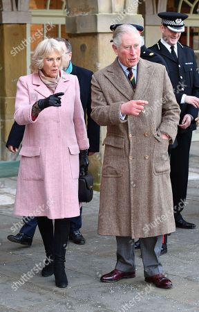 Prince Charles and Camilla Duchess of Cornwall visit to Yorkshire
