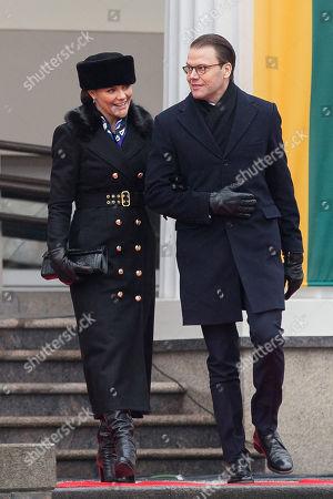 Crown Princess Victoria and Prince Daniel visit Lithuania