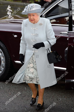 Queen Elizabeth II visits the Royal College of Physicians, London