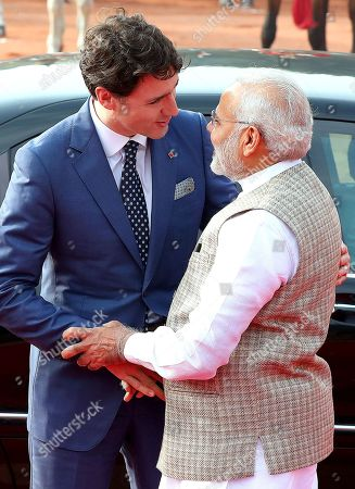 Canadian Prime Minister Justin Trudeau visits India