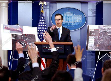 White House daily press briefing, Washington DC
