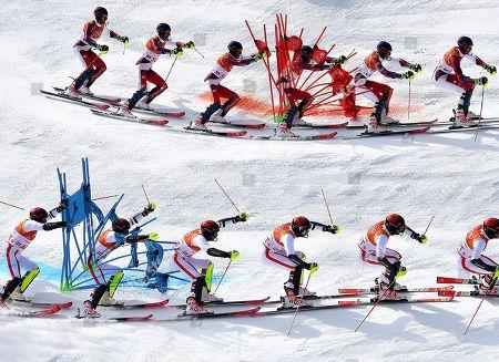 PyeongChang 2018 Winter Olympic Games, Alpine Skiing, Alpine Team Event