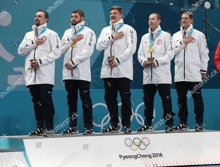 PyeongChang Winter Olympic Games, Curling, Men, USA v Sweden
