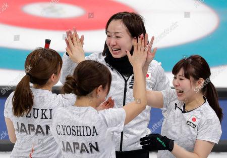 PyeongChang Winter Olympic Games, Curling, Women, Japan v Great Britain