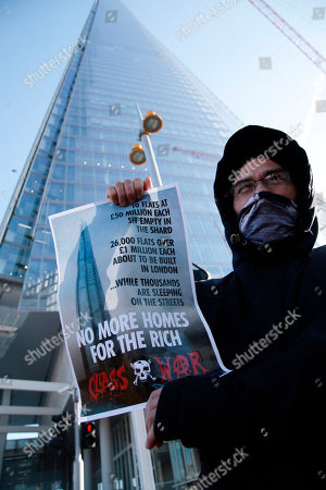 Class War anti gentrification protest, London