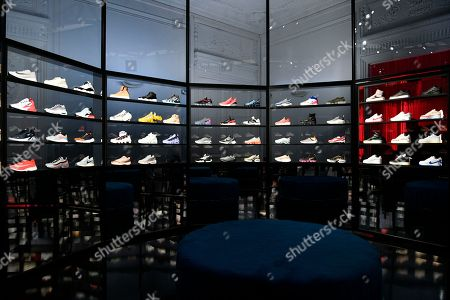 Shoes on display ...